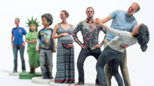 3D printed figurines in Berkeley California