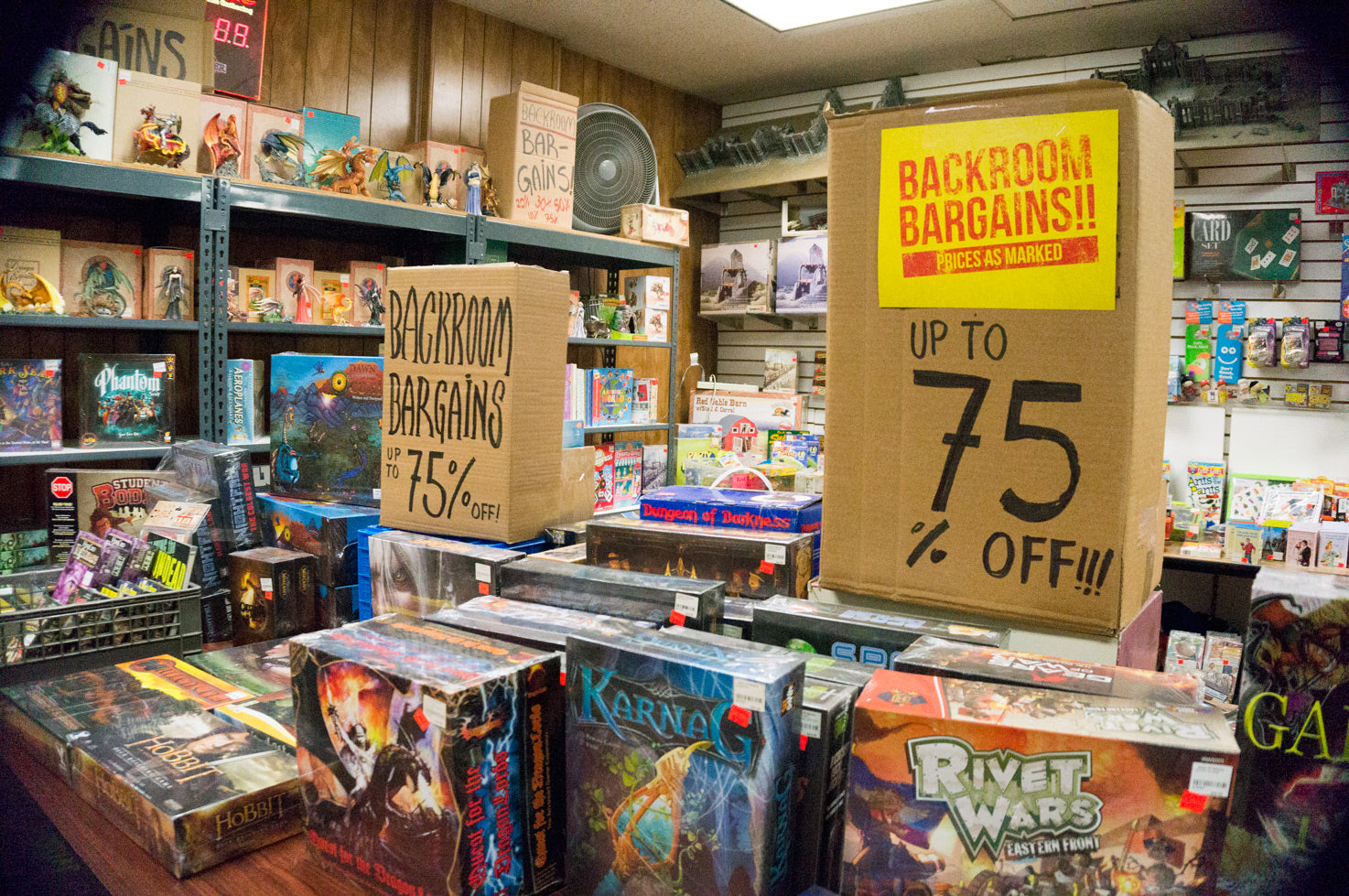 Backroom Bargains at Games of Berkeley