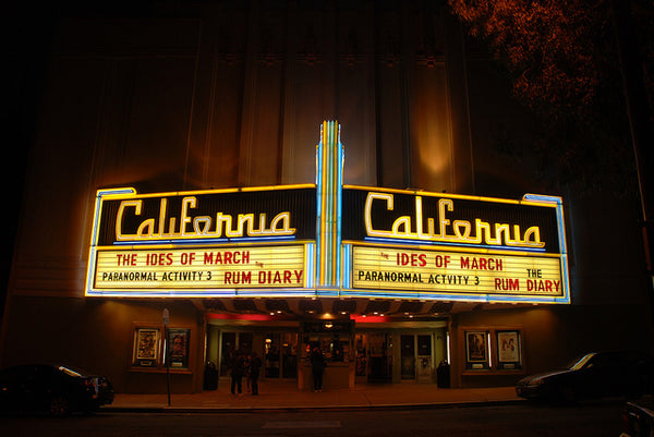 California Movie Theatre