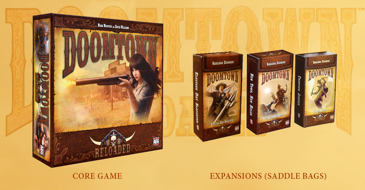 Doomtown Starter set and Saddle bags