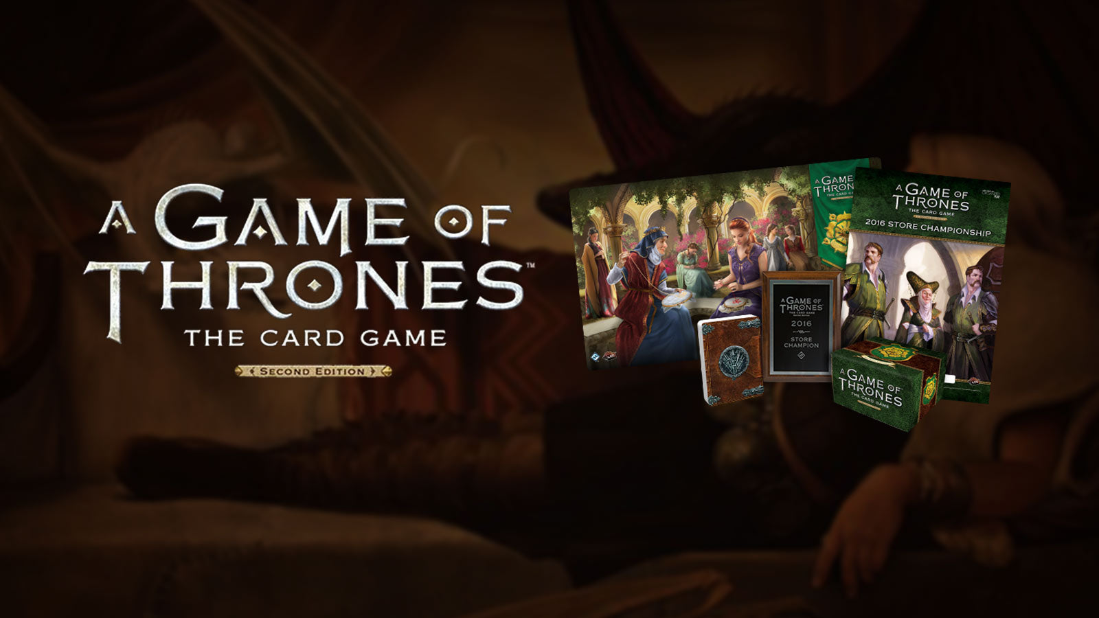 Game of Thrones Card Game Prize Kit 2016