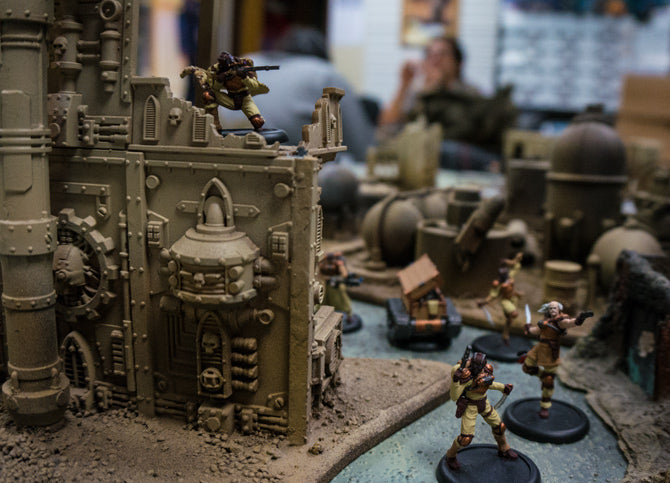 Warhammer 40k and other Miniatures – Games of Berkeley