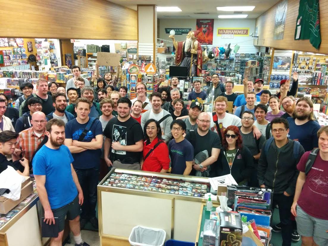 Netrunner Tournament at Games of Berkeley