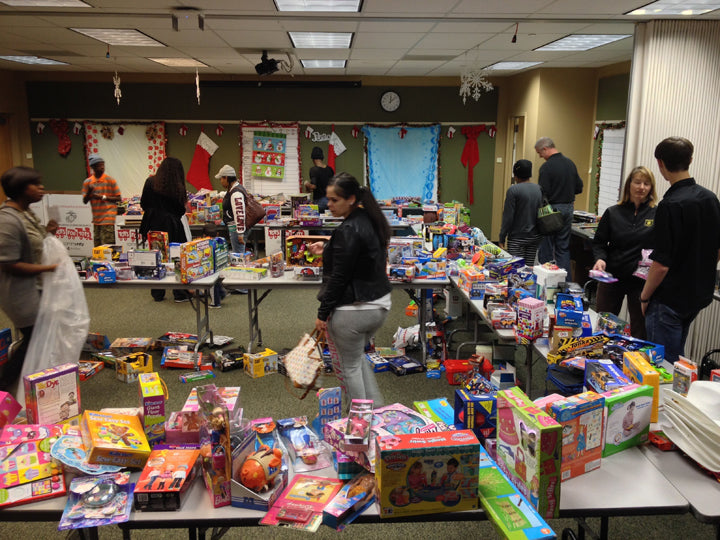 Berkeley Toys for Tots Toy Drive