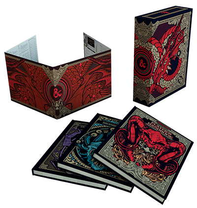 D&D 5th Edition - Gift Set - Limited Edition