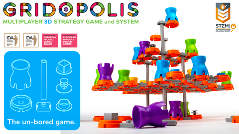 PRE-ORDER DEPOSIT: Gridopolis - 3D Strategy Game and System
