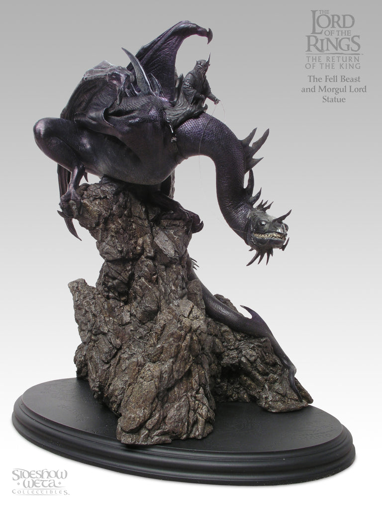 Fell Beast and Morgul Lord - LotR Polystone Statue