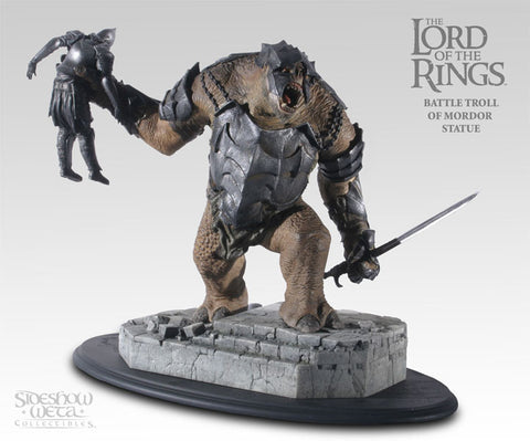 The Battle Troll of Mordor - LotR Polystone Statue