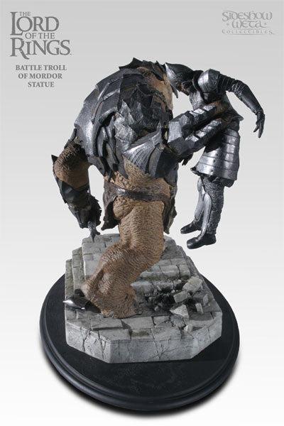 The Battle Troll Of Mordor Lotr Polystone Statue Games