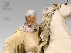 Gandalf the White on Shadowfax - LotR Polystone Statue