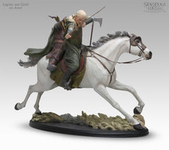 Legolas and Gimili on Arod - LotR Polystone Statue