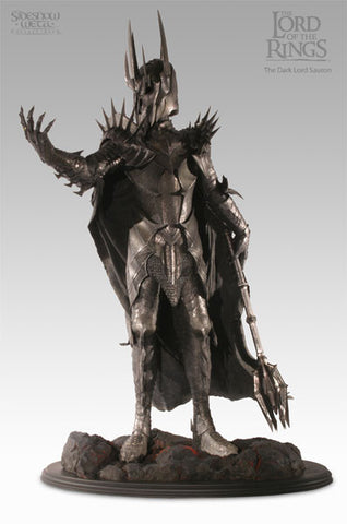 The Dark Lord Sauron - LotR Polystone Statue