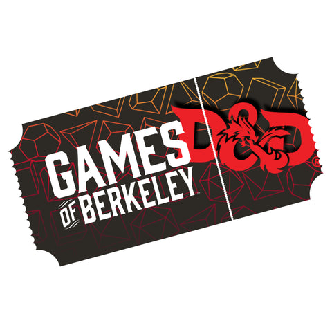 Pop-Up Gen Con - D&D 1st Level - Sun 8/4