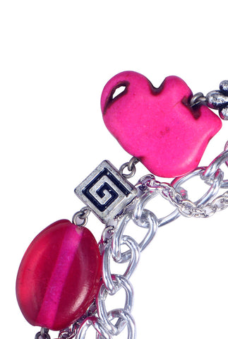 Charm and Chain Bracelet