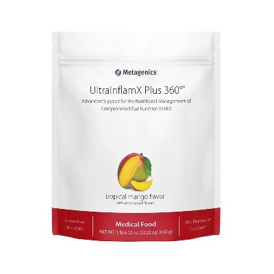 ULTRA INFLAMX PLUS 360    Tropical Mango       1LB per bag