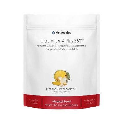 ULTRA INFLAMX PLUS 360     Pineapple Banana  (30 day serving)