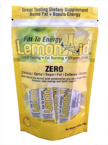 LEMONAID PACKETS  (20 sticks)