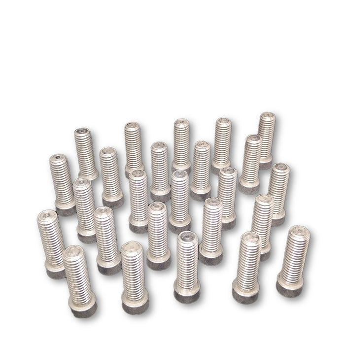 "Aluminum Pull-Stubs, 1/2"" diameter x 1.5"" long, Pkg. of 25"