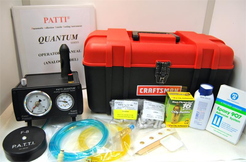 P.A.T.T.I. QUANTUM Analog Adhesion Tester