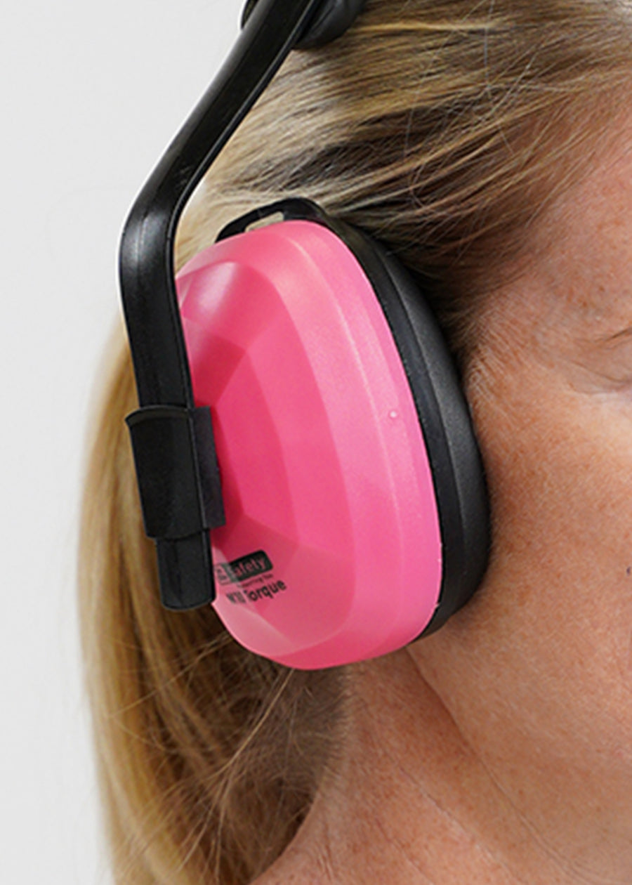 Safety first .. for the pink lovers!