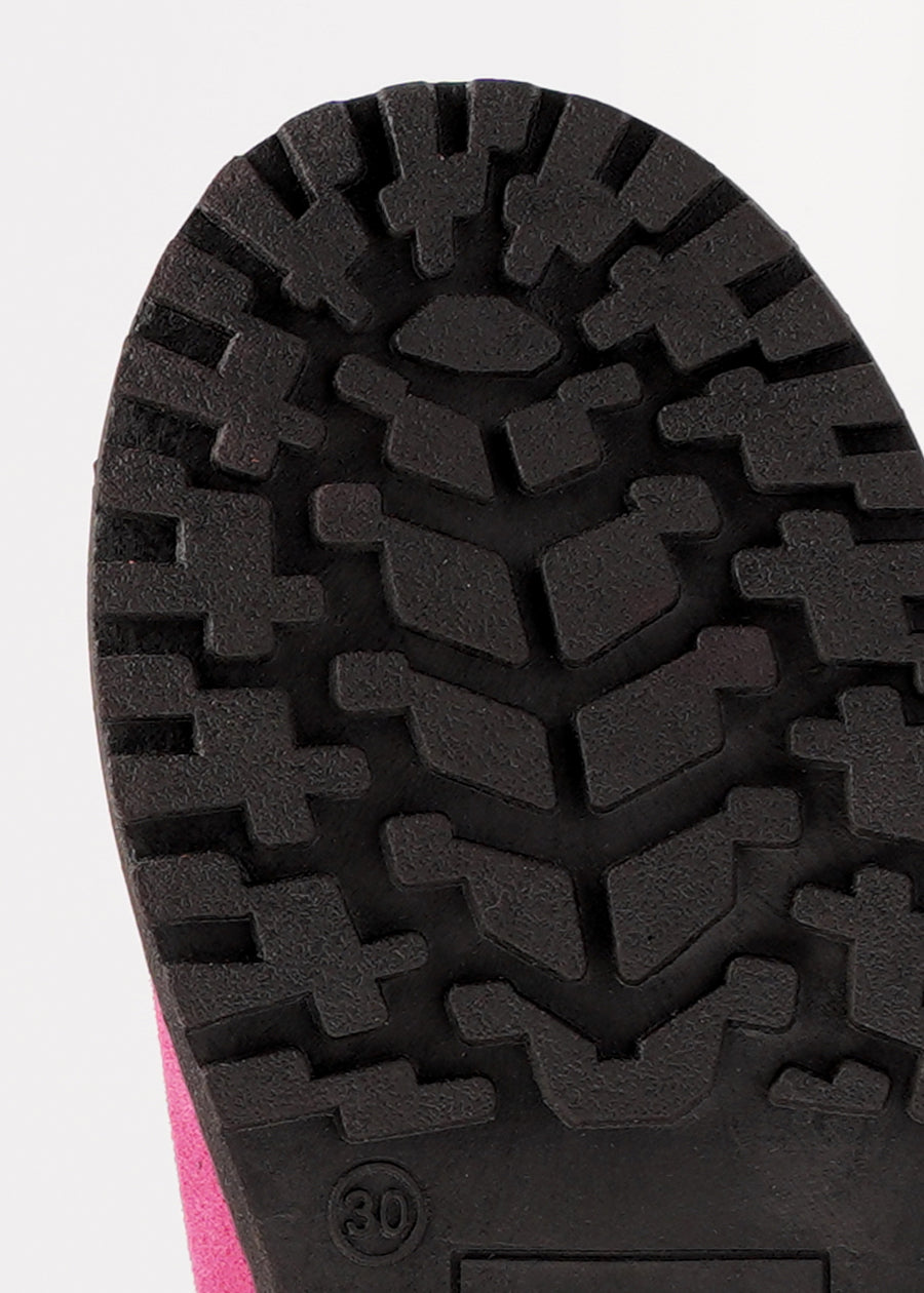 """Durable, """"grippy"""" sole"""