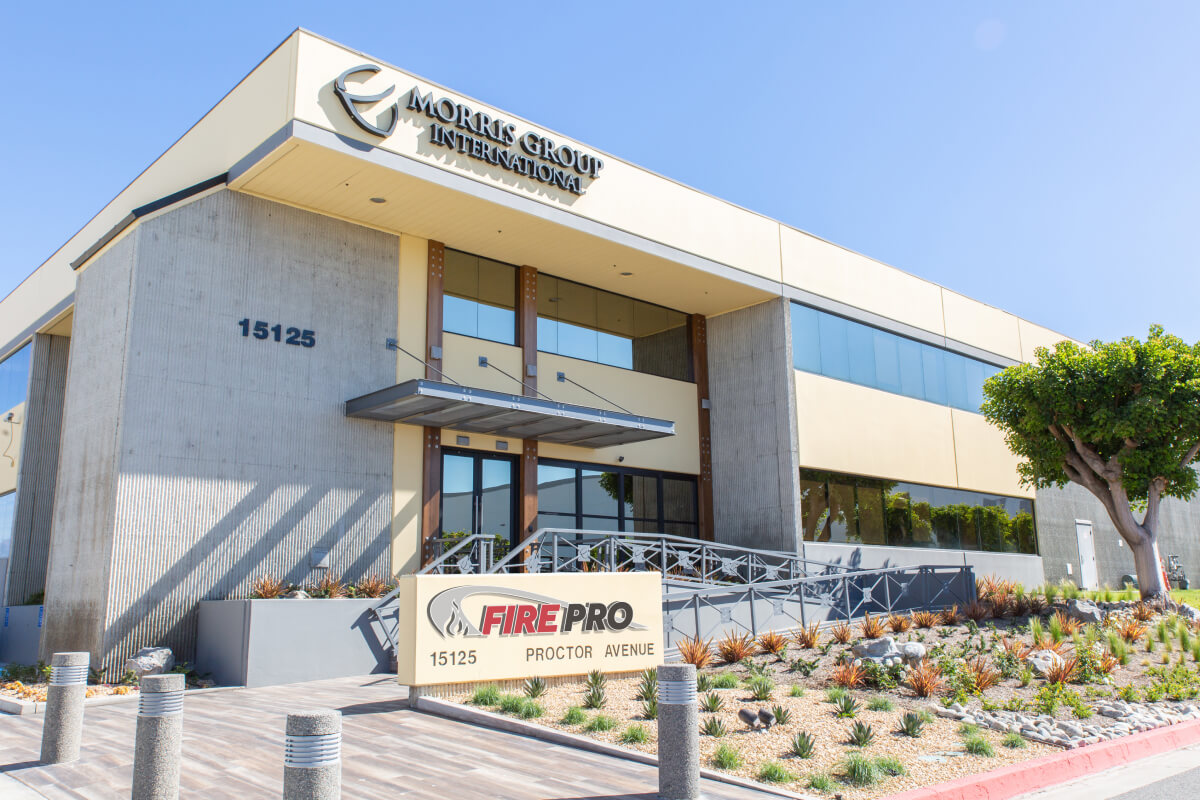 Fire Pro and Morris Group International Headquarters