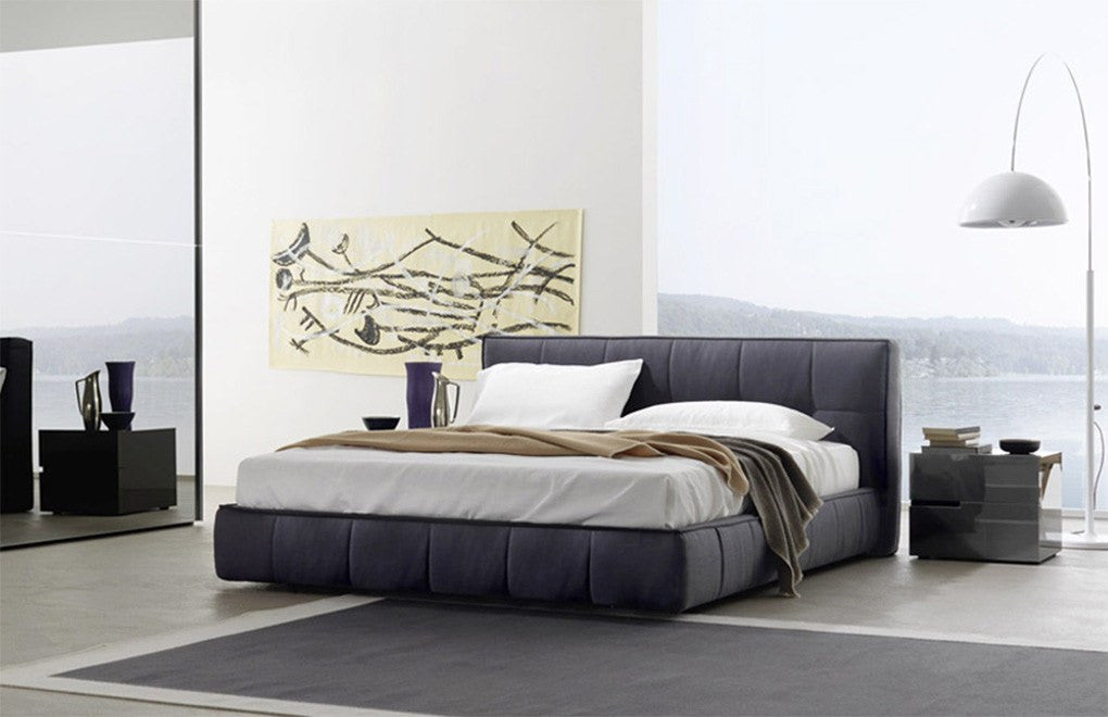 Sangiacomo Super Soft Bed Modern Beds Square Quilted