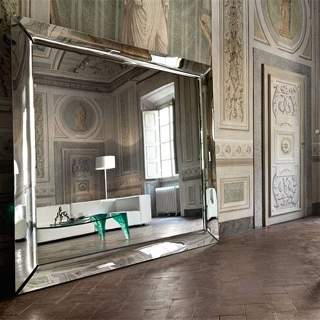 Fiam caadre mirror philippe starck mirrors modernpalette for Miroir philippe starck
