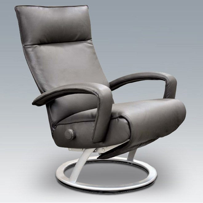 Demi Recliner By Lafer Modern Ergonomic Leather