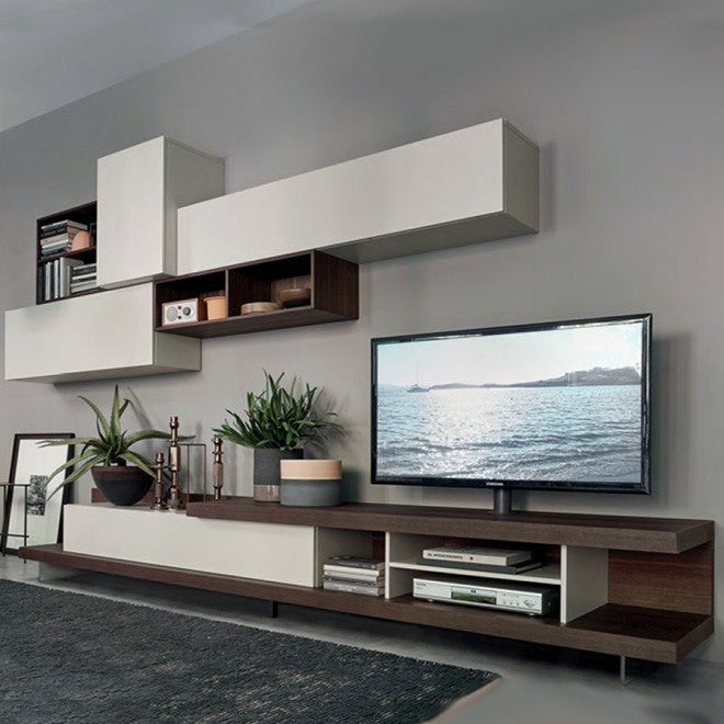 Sangiacomo Lampo L5c52 Modern Tv Stand Wall Mount Storage Cabinets Modernpalette