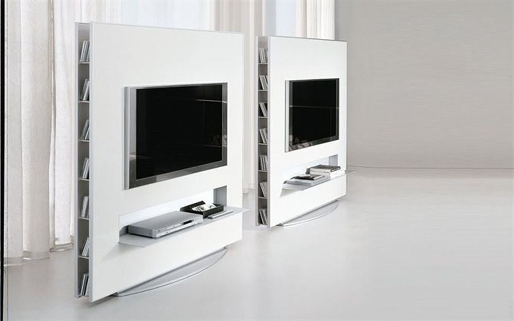 Alivar frame tv unit modern media console modernpalette for Alivar arredamenti