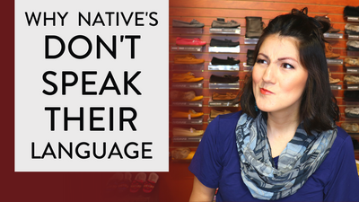 Anishnaabemowin - Why NATIVE People Don't SPEAK Their LANGUAGE? 🗣