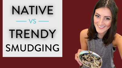 Native Smudging vs. Trendy Smudging
