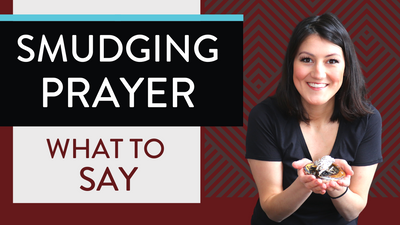 SMUDGING PRAYER - How to smudge with sage (What to SAY when smudging!)