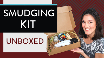 Sage SMUDGING KIT Unboxed 🔥(What's inside this indigenous smudge kit?!)