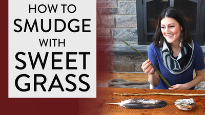 SWEETGRASS SMUDGING 🌿(Why & How to Smudge with Sweet Grass)