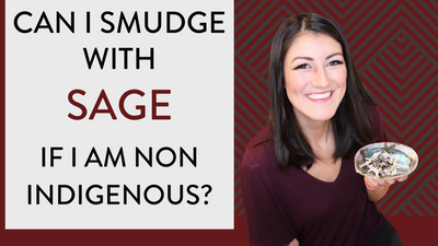 Can I Smudge With Sage if I'm Non-Indigenous?