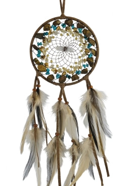 "4"" Vision Seeker Cluster Dream Catcher - Brown"