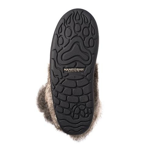 Youth Snowy Owlet Waterproof Mukluk (Charcoal)