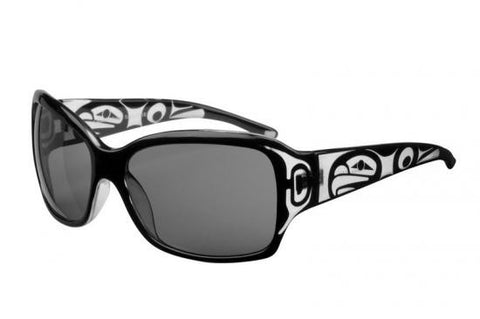 Ladies Althea Eagle Sunglasses (Crystal Black)