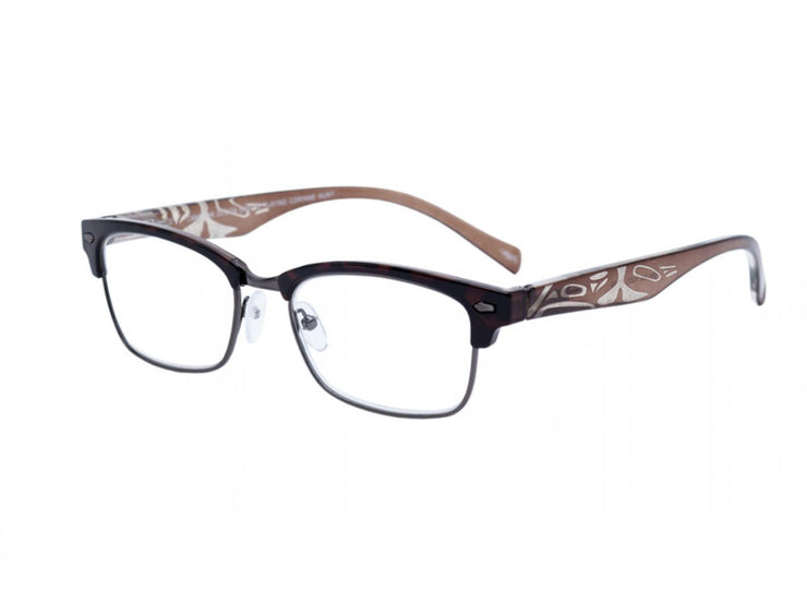 Dylan Eagle Orca Reading Glasses (Brown)