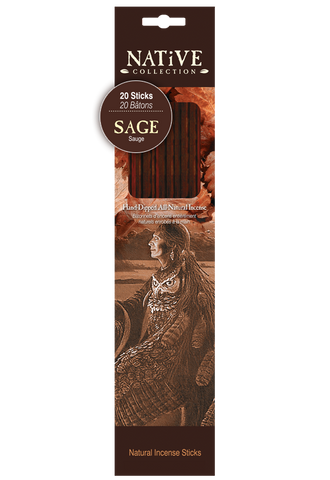 Native Collection Incense Sticks - Sage