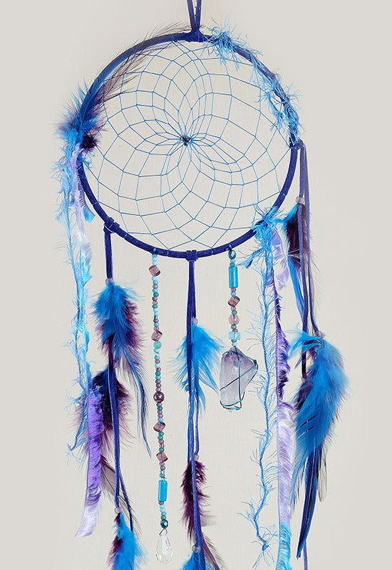 "6"" Magical Dream Catcher with Amethyst Quartz"