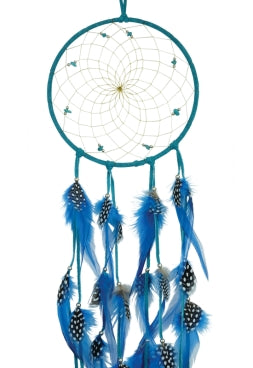 "6"" Semi-Precious Dream Catcher - Turquoise"