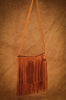 Double Fringe Zipper Purse (Buffalo)
