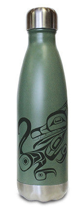 Insulated Bottle - Wolf (17 oz)