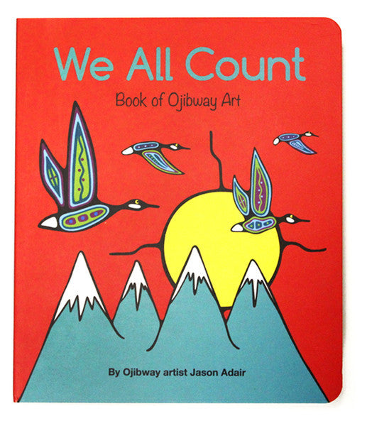 Board Book - We All Count (Ojibway)