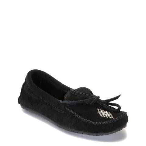 Canoe Suede Moccasin (Black)