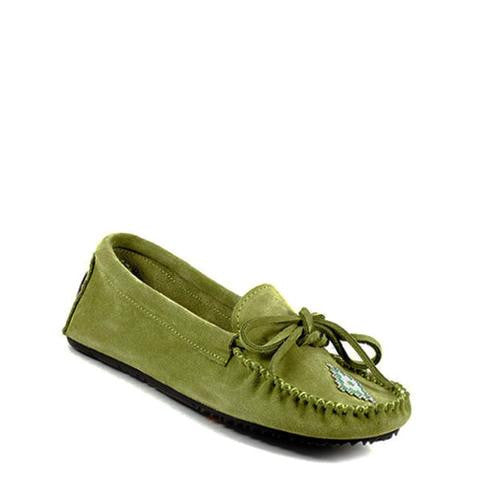 *Discontinued* Canoe Suede Moccasin (Sage)