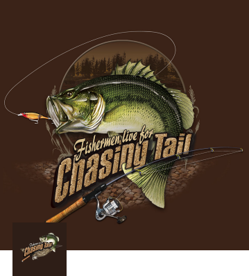 Chasing Tail Bass T-Shirt (Coffee)